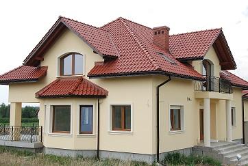 Elewacje domów przykłady